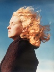 Marilyn in the wind (1946) - click to enlarge