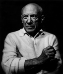 Picasso con un cigarro - click to enlarge