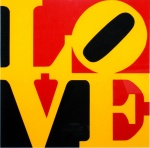 Book of Love #9 (Black, Yellow, and Red - German Love) - click to enlarge