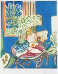 Petit Interieur Bleu (Little Blue Interior),1952 - click to enlarge