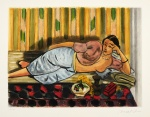 Odalisque au coffret rouge (Odalisque with Red Box) , 1952 - click to enlarge