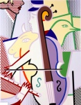 Cubist Cello - click to enlarge