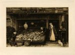 A Fishmonger's shop - click to enlarge
