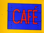 Cafe Sign - click to enlarge